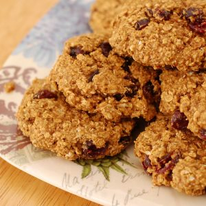 Cran-Oat-Kin Breakfast Cookies