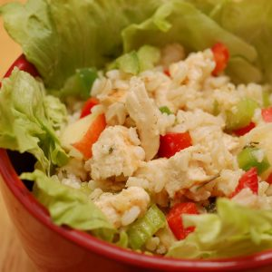 Chicken and Brown Rice Salad