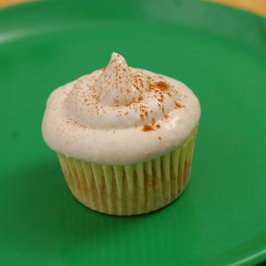 Banana Cupcakes with Honey-Cinnamon Cream Cheese Frosting