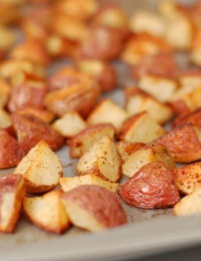 Garlic Roasted Baby Red Potatoes