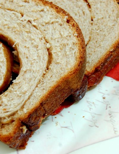 Simply Amazing Cinnamon Swirl Wheat Bread