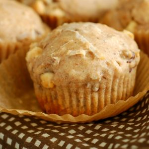 Toasted Coconut Pecan White Chip Muffins