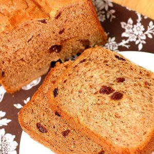 Cinnamon Raisin Oatmeal Bread – Bread Machine