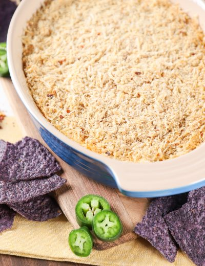 Jalapeno Popper Dip Recipe from A Kitchen Addiction