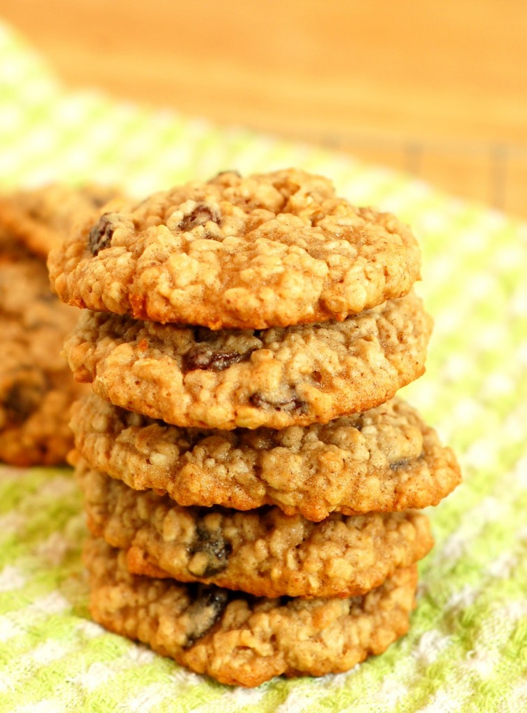 Chewy Oatmeal Raisin Cookies Recipe — Dishmaps