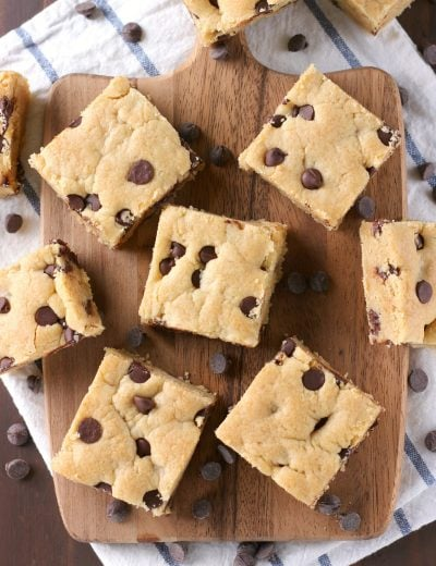 Grandmas Chocolate Chip Bars Recipe from A Kitchen Addiction