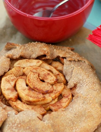 Cream Cheese Apple Crostata for Two