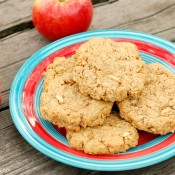 pb apple oatmeal cookies w name