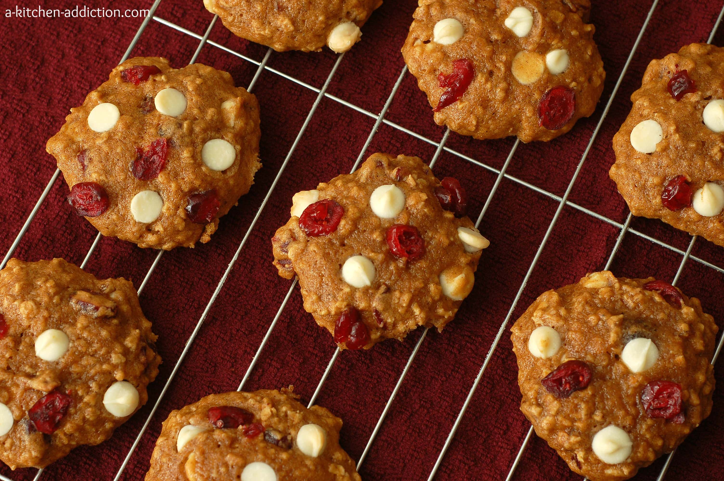 for pumpkin bread orange cranberry cookies cranberry pumpkin cookies ...