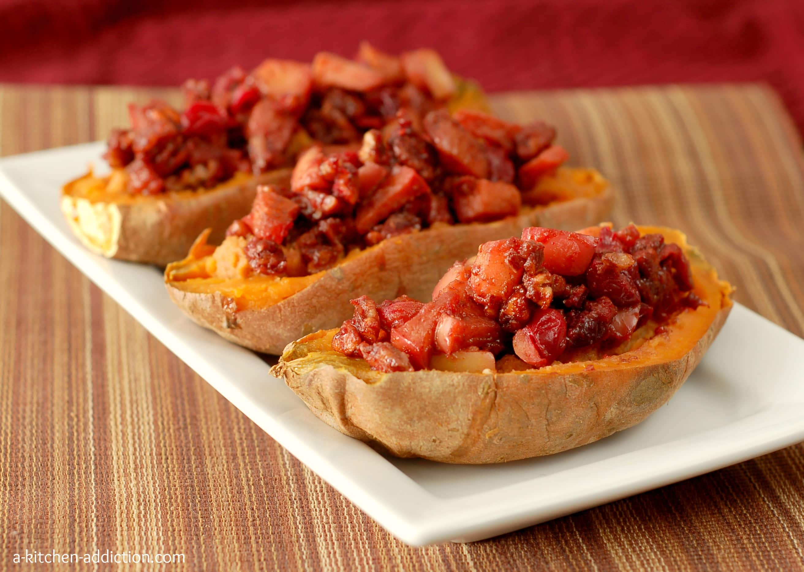 Stuffed Baked Sweet Potatoes With Pecans Recipes — Dishmaps