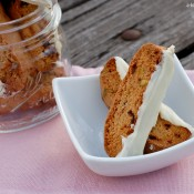 {A Kitchen Addiction} Cranberry Pistachio Biscotti