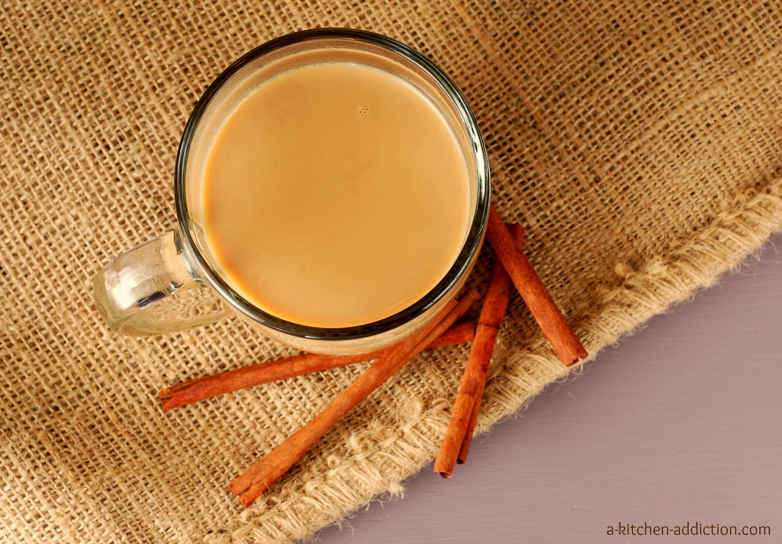 Pumpkin eggnog chai a kitchen addiction for A kitchen addiction