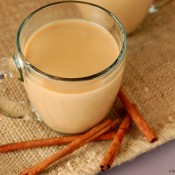 {A Kitchen Addiction} Pumpkin Eggnog Chai