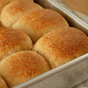 Herbed Wheat Dinner Rolls