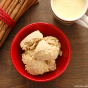 {A Kitchen Addiction} Eggnog Ice Cream