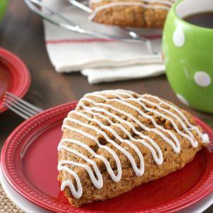 Gingerbread Scones {Whole Wheat}