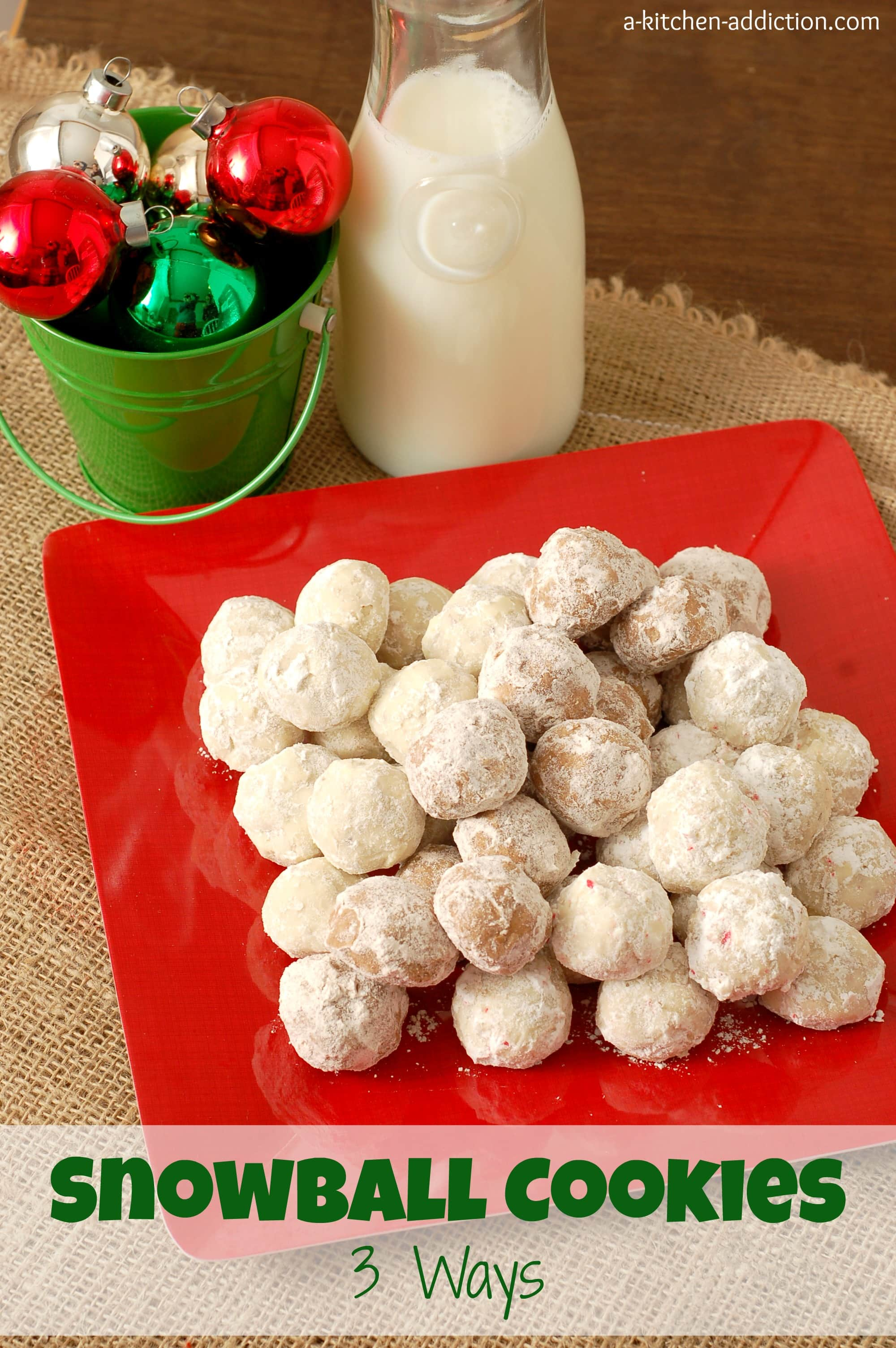 snowball cookies mexican wedding cookies russian teacakes what do you ...