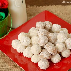 Snowball Cookies 3 Ways