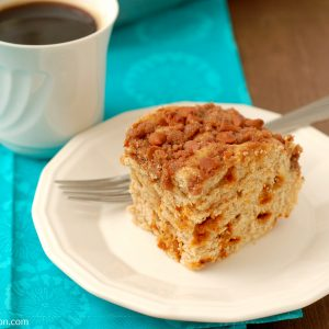 Cinnamon Chip Breakfast Cake