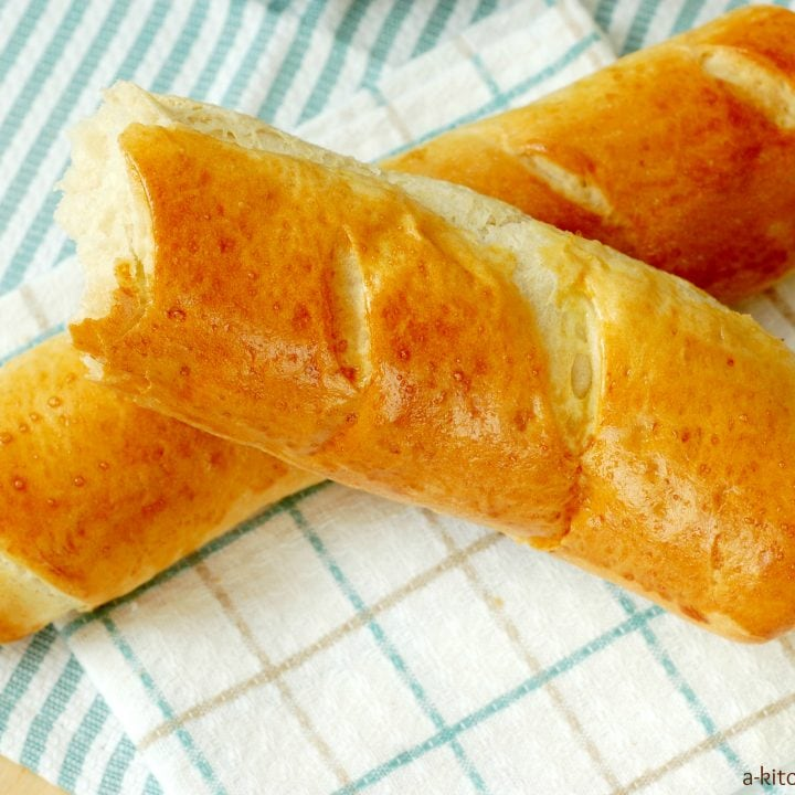 Easy French Baguette Recipe