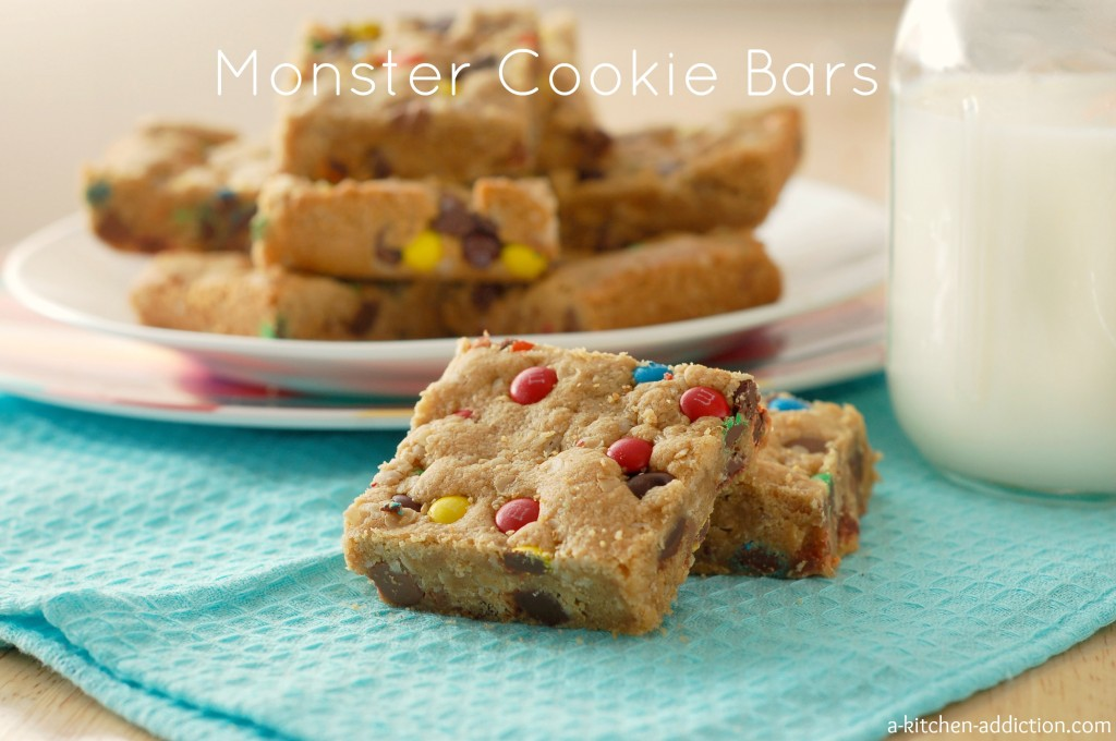 Monster Cooke Bars Recipe