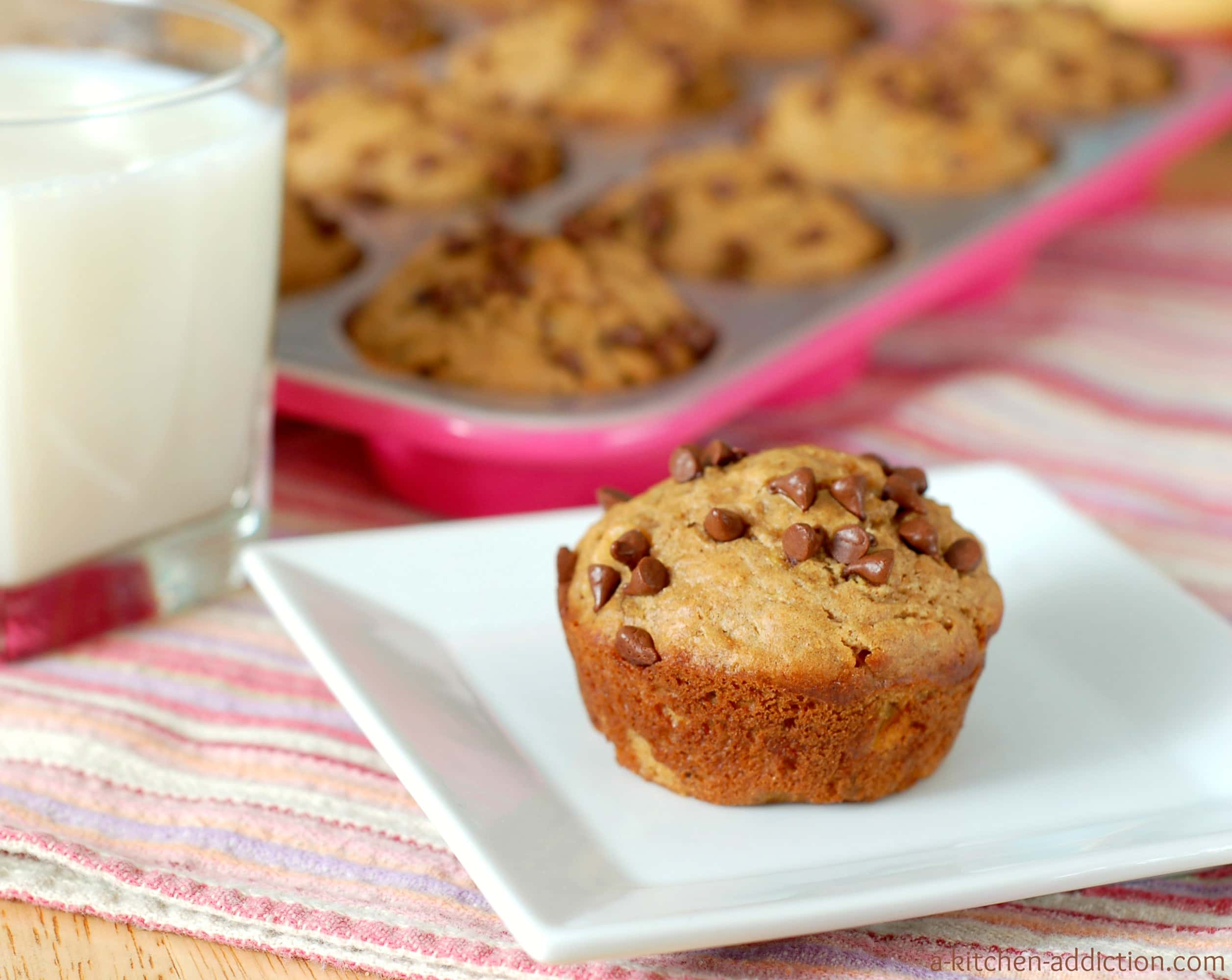 ... ll be sitting inside watching the snow fall and eating these muffins