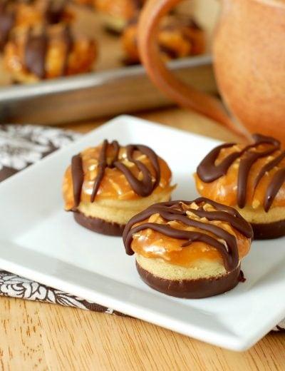 Samoa Baked Mini Donuts