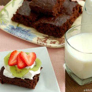 Skinny Fudgy Brownies (Quick & Easy)