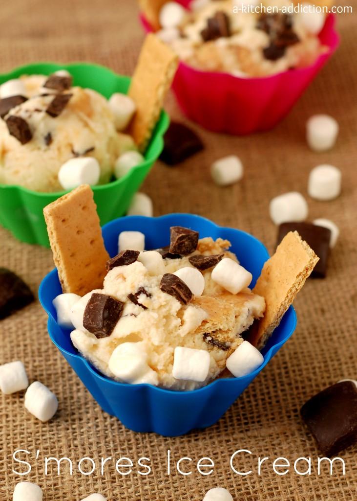 S'mores Ice Cream Recipe