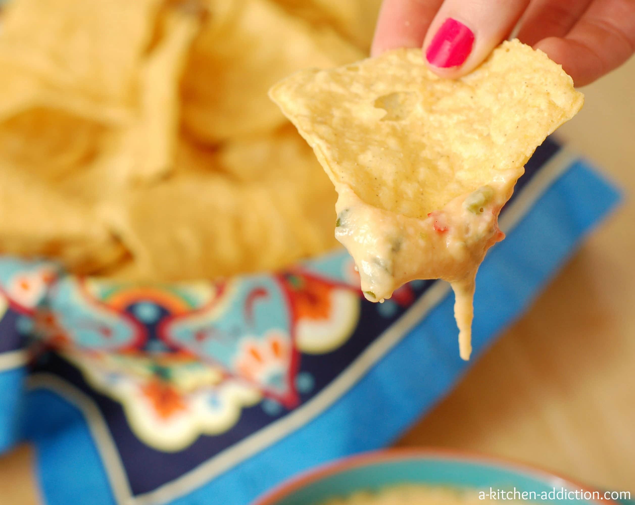 Cilantro queso a kitchen addiction for A kitchen addiction