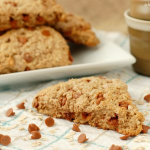 Cinnamon Chip Oatmeal Scones