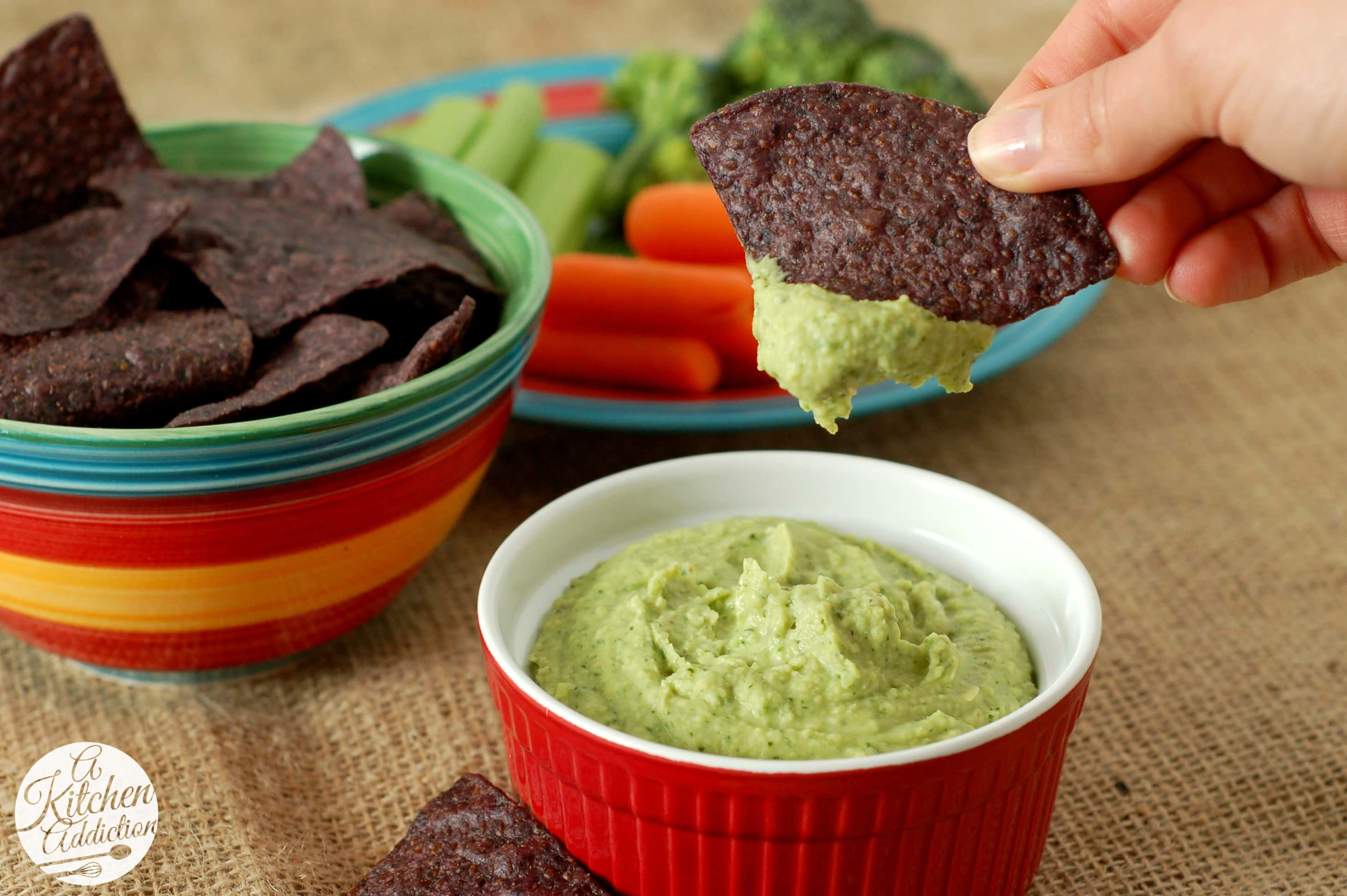 Cilantro lime jalapeno hummus recipe a kitchen addiction for A kitchen addiction