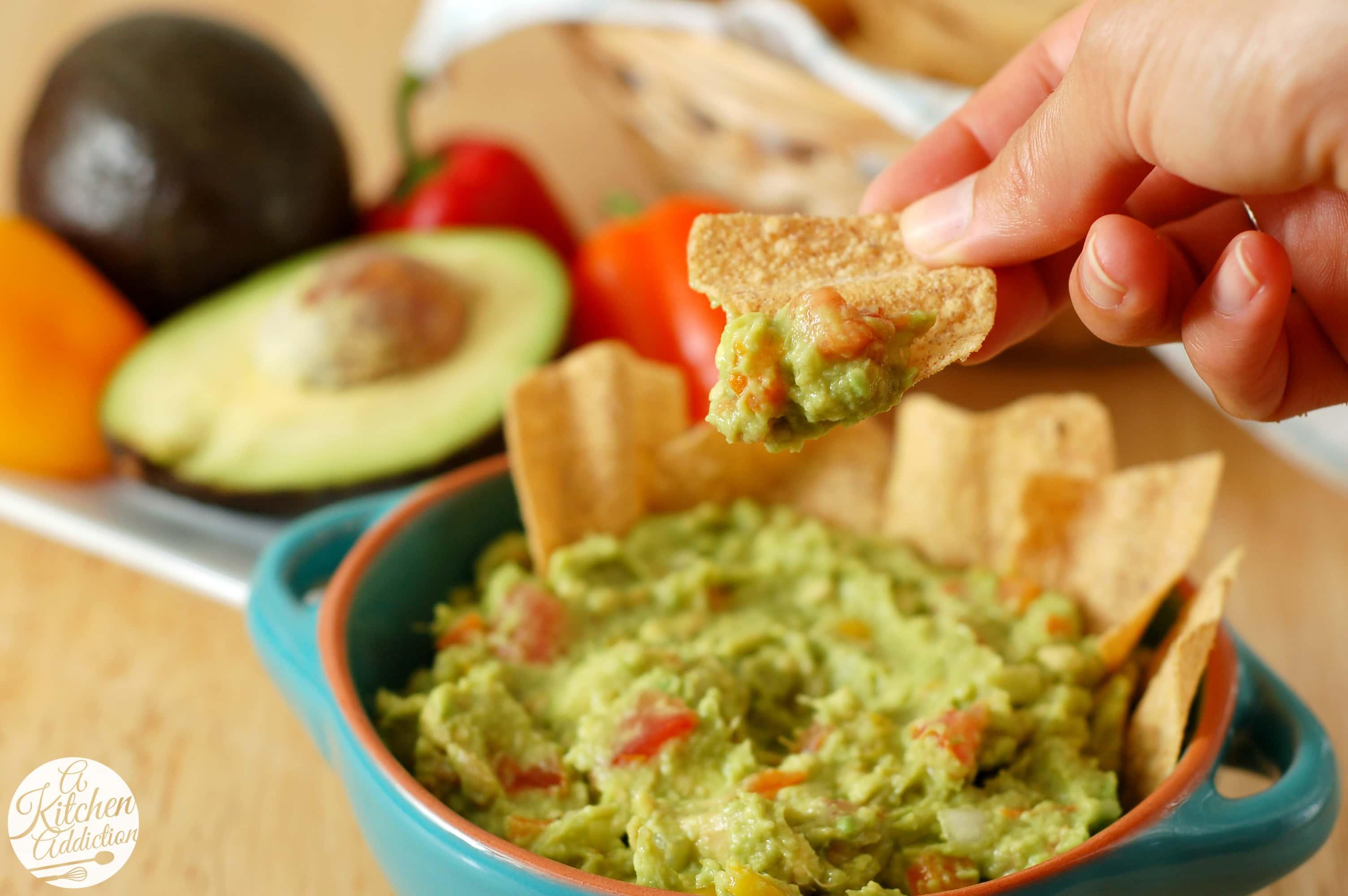 Easy garden guacamole a kitchen addiction for A kitchen addiction