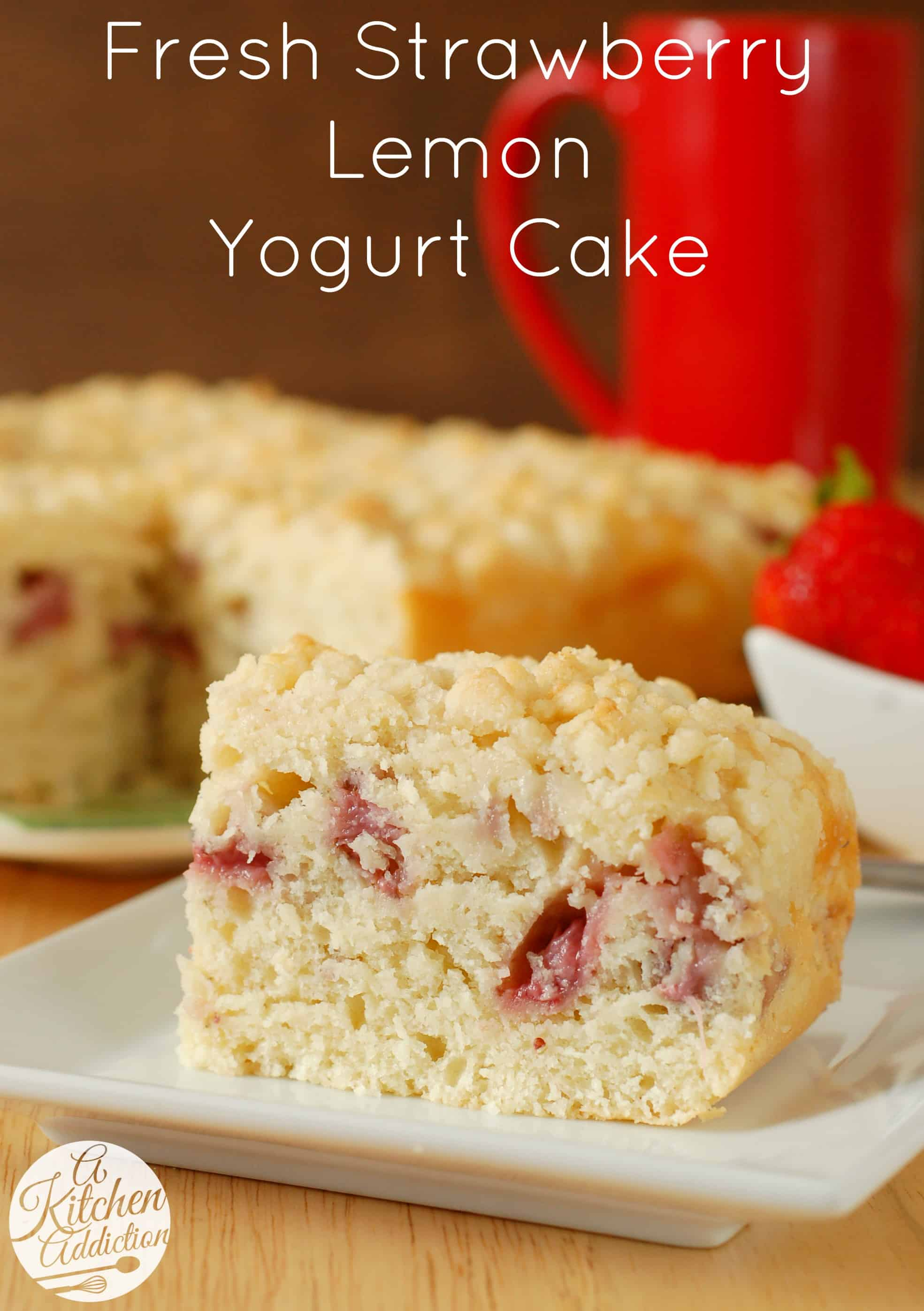Fresh Strawberry Yogurt Cake Recipes — Dishmaps