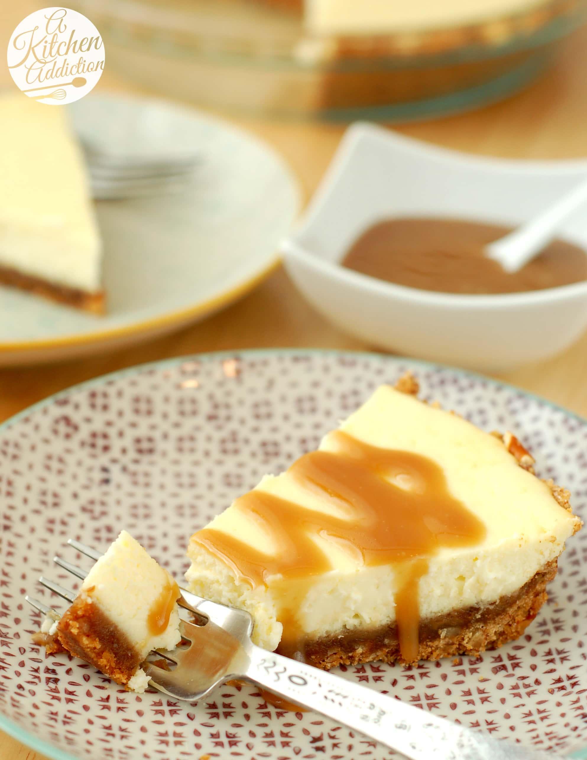 Salted Caramel Vanilla Cheesecake Recipes — Dishmaps