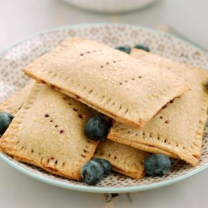 Whole Wheat Blueberry Toaster Pastries