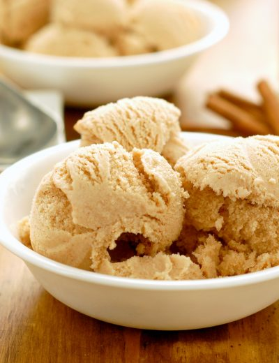 Cinnamon Maple Ice Cream