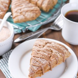 Maple Glazed French Toast Scones