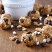 Peanut Butter Smores Granola Bites Recipe from A Kitchen Addiction