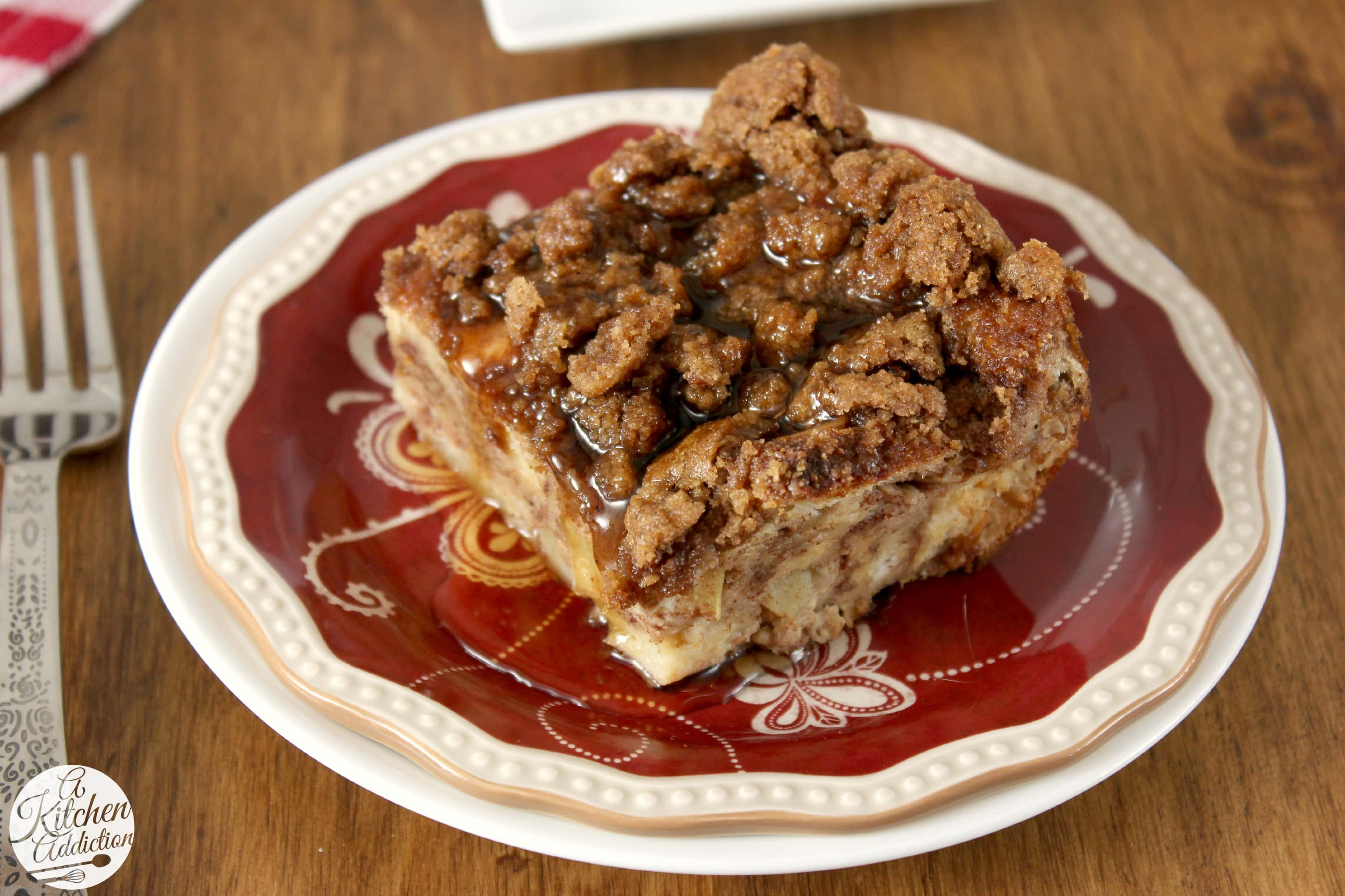 Big Oven French Apple Cake