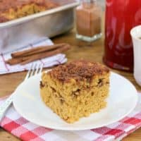 Maple-Cinnamon Pumpkin Coffee Cake