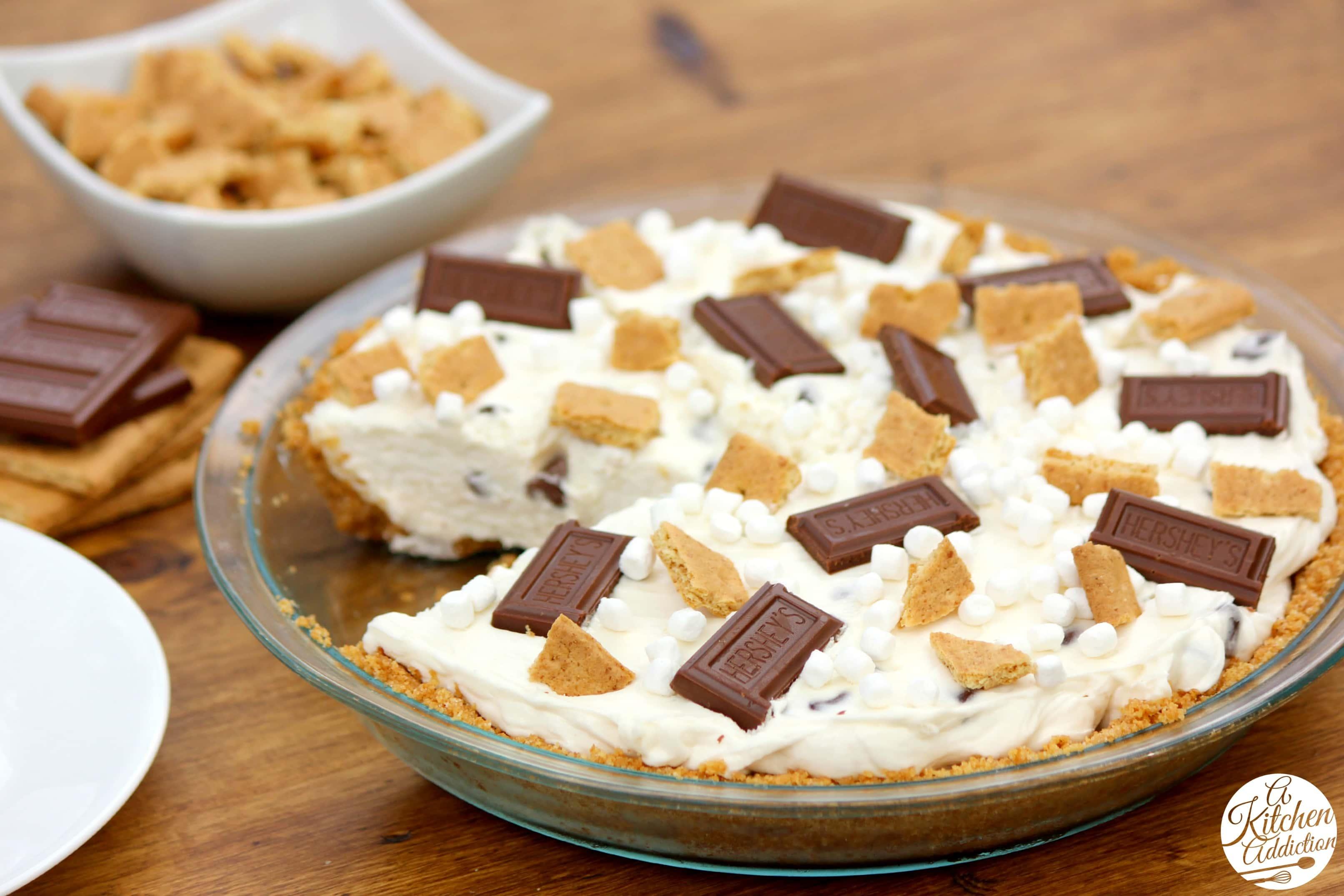 The Kitchen No Bake S Mores Pie