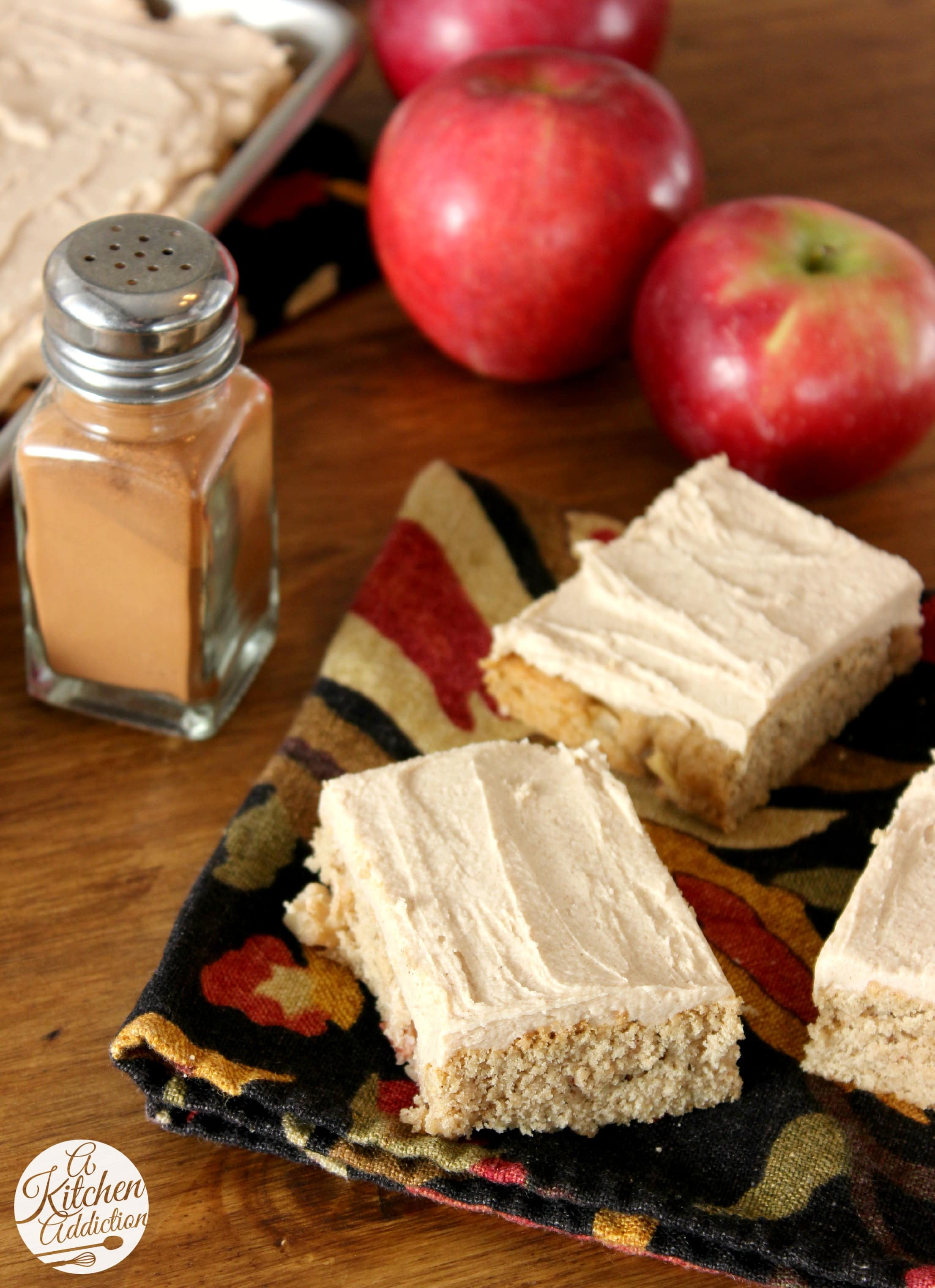 Frosted apple blondies a kitchen addiction for A kitchen addiction