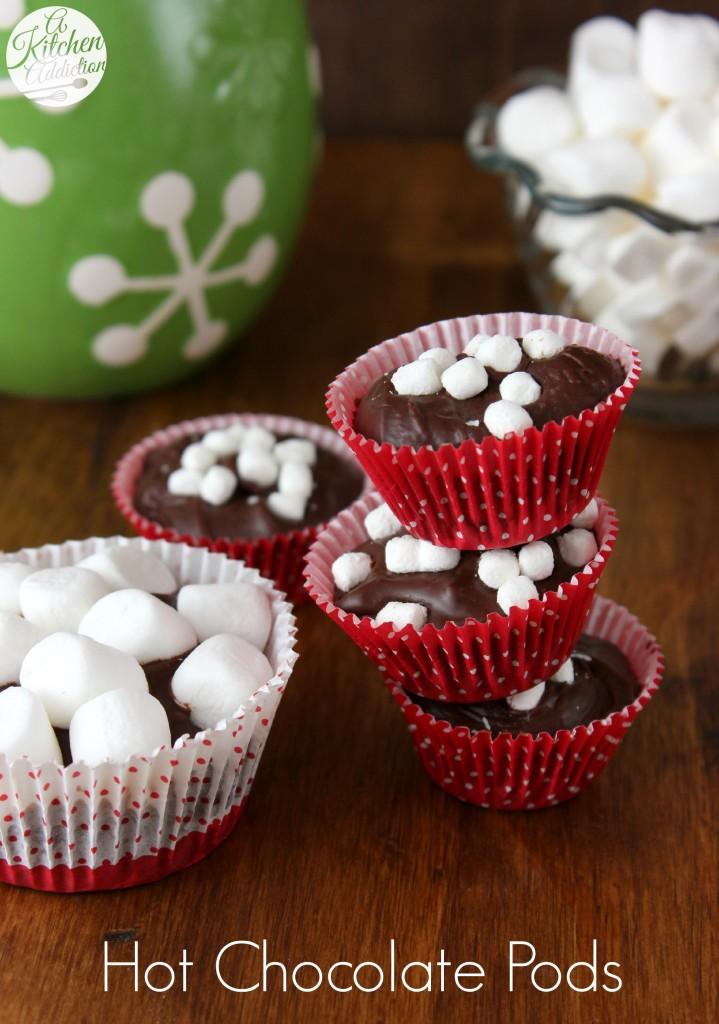 Hot Chocolate Pods Recipe l www.a-kitchen-addiction.com