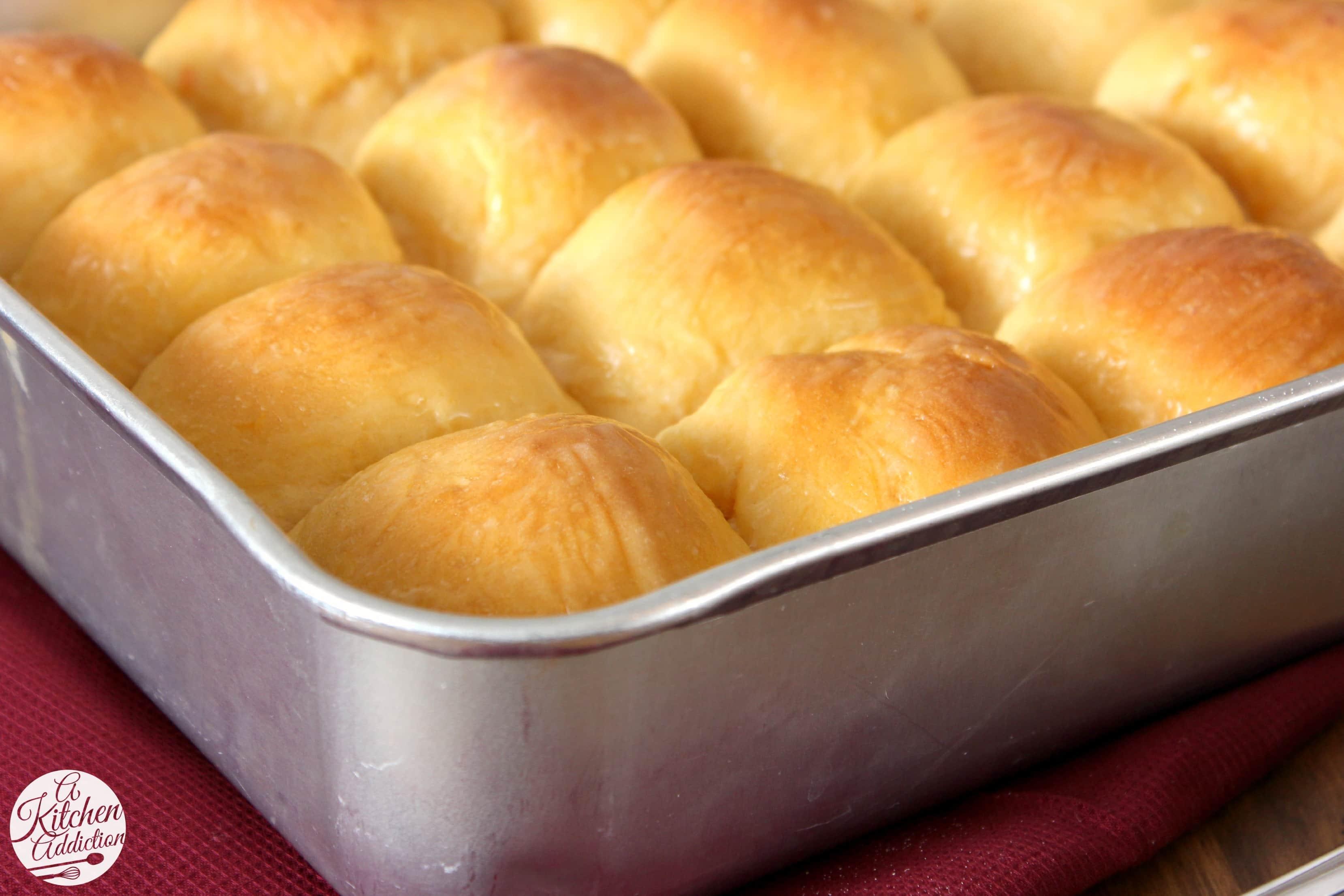 Sweet Potato Dinner Rolls With Honey Butter Glaze A Kitchen Addiction