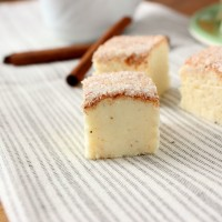 Eggnog Snickerdoodle Fudge
