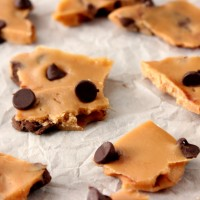 Easy Malted Chocolate Chip Toffee