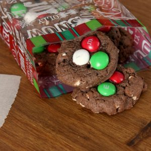 Mint Hot Chocolate Cookies