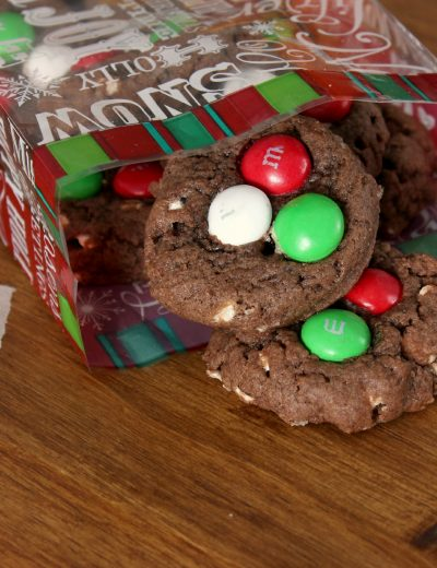 Mint Hot Chocolate Cookies