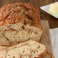 Cinnamon Swirl Yogurt Quick Bread